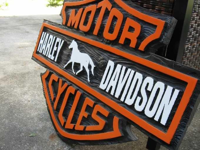 Harley Davidson Man Cave Signs : Best logo harley davidson images on pinterest