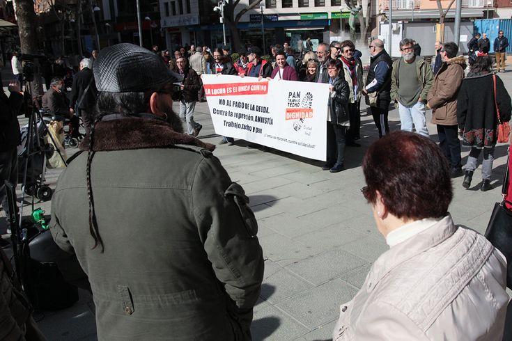 Las Marchas de la Dignidad salen a la calle en defensa de las pensiones