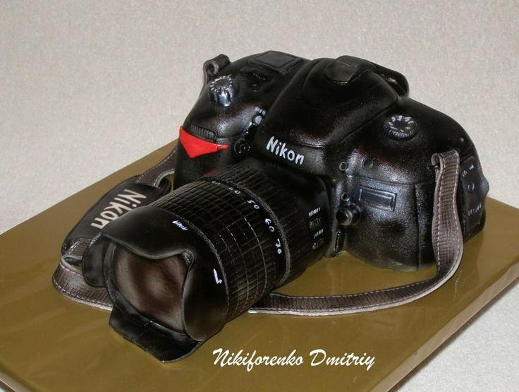 "Торт ""Фотокамера Nikon"""
