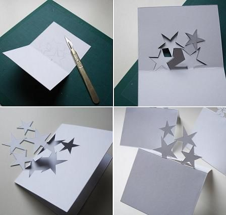 17 best images about tarjetas pop ups cards on pinterest - Como hacer tarjetas navidenas originales ...