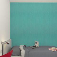 Vif et coloré, ce modèle FUNNY en version bleu turquoise va faire de l'effet sur vos murs !    Fraîche et apaisante, la couleur de ce papier peint apportera une touche de vitalité sur les murs de votre chambre, salon ou salle de bain.  Sa texture lisse apportera à votre pièce sobriété. Evadez-vous tout en douceur …