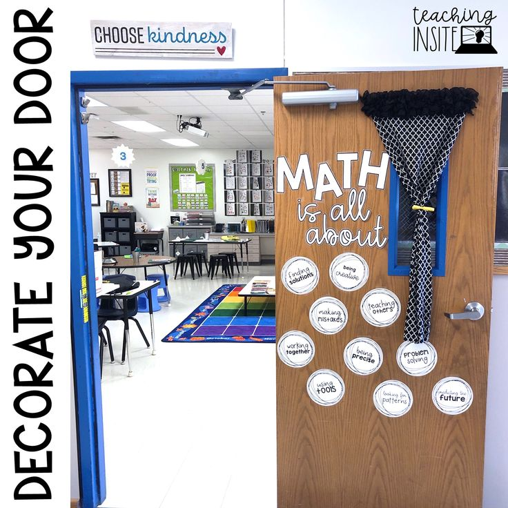 10 Ideas for Decorating Your Math Classroom