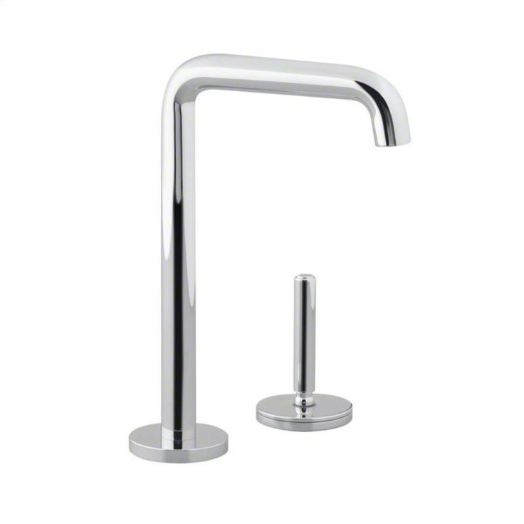 kallista chrome one entertainment faucet available at