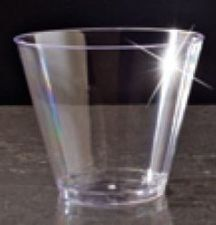 Clearware 9oz Squat Glasses by EMI Yoshi. $3.49. Manufactured to the Highest Quality.. Design is stylish and innovative. Satisfaction Ensured.. EMI Yoshi's Clearware tumblers are strong, durable and stylish. Extreme clarity and fluted design adds subtle elegance and creates the look of crystal cut glasses without the cost.