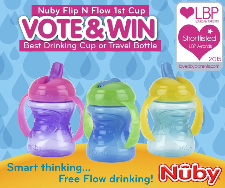 The Nuby Free Flow Sip-eez First Cup is perfect for babies aged 4-6 months+  Shortlisted in the Lovedbyparents Awards for the Best Drinking Cup