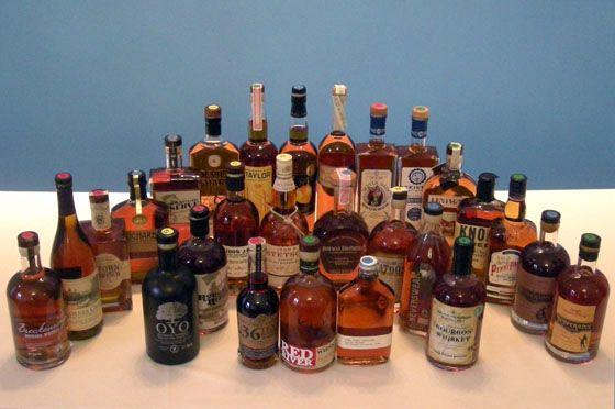 2014 Fifty Best Bourbons from Bourbon and Banter http://www.thefiftybest.com/spirits/best_bourbon/