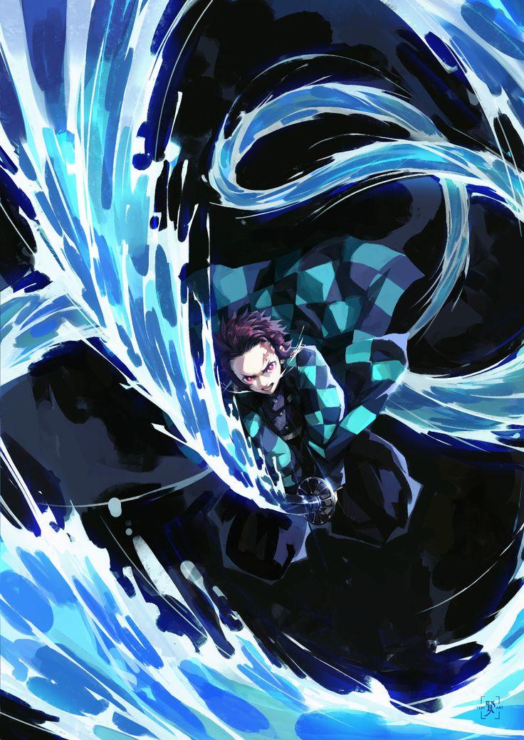 Artstation tanjiro edward tsang in 2020 anime demon