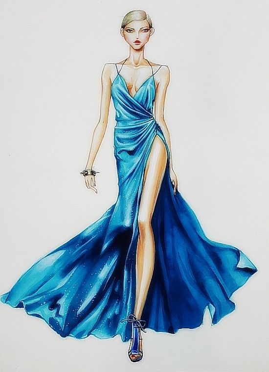 fashion illust#fashion illustration#fashion drawing | ♦F&I♦
