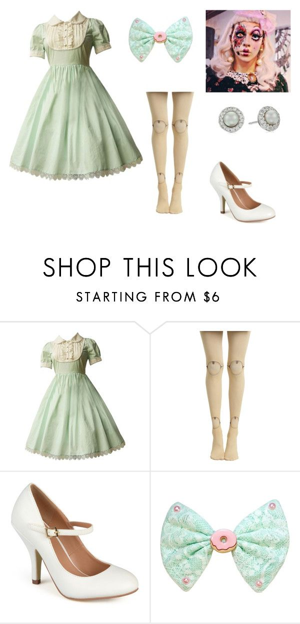 broken doll costume by oliviaf14 liked on polyvore featuring journee collection and majorica - How To Make A Doll Costume For Halloween