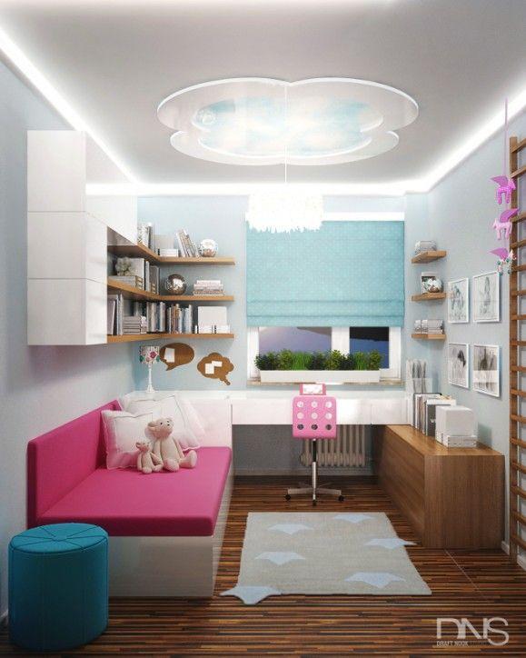 Projekt pokoju dziewczynki