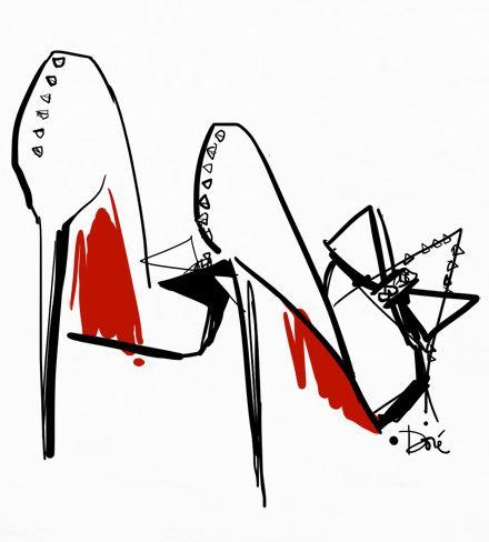 Rouge Louboutin / Garance Doré