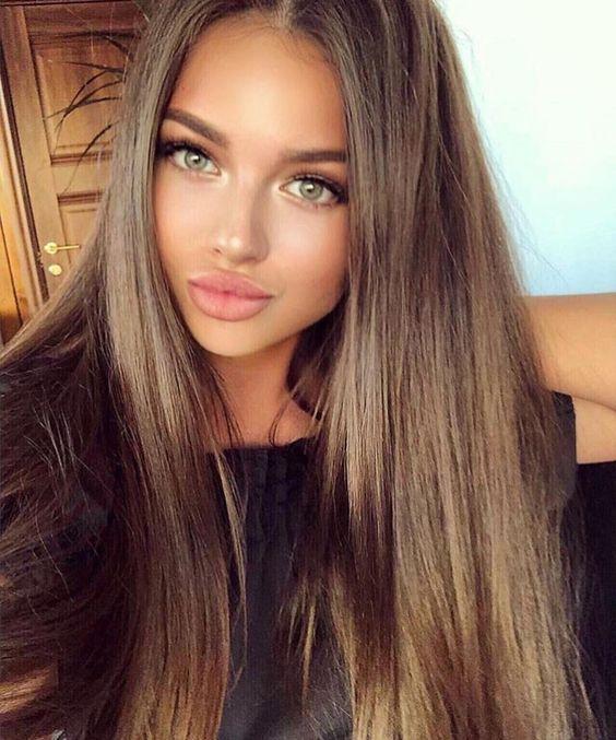 Derfrisuren.top Comment être jolie sur les photos avec un maquillage parfaites pour les brunes ... sur pour photos parfaites maquillage les jolie être comment brunes avec