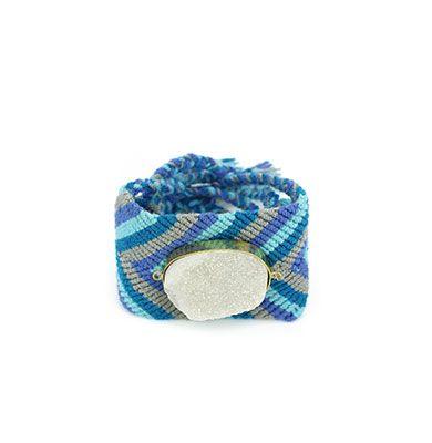 Wayuu Armband met Edelsteen 119 - €39,95