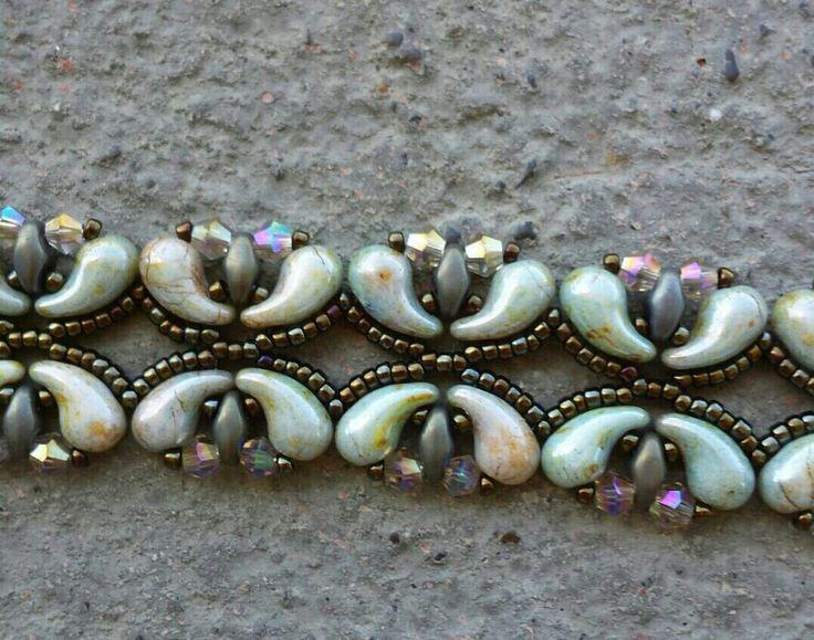 Paloma's path bracelet made by me