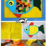 Kid's Room Decor – BUTTON FISH