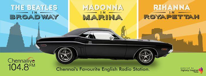 Facebook Cover Photo  #ChennaiLive #radio #music #TheBeatles #Madonna #Rihanna #digitallyinspiredmedia