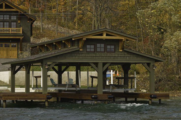 Japanese Timber Frame Plans Residential Boat Dock