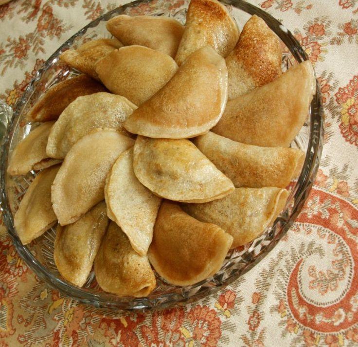 `Ataif ~ Stuffed Arabic Pancakes