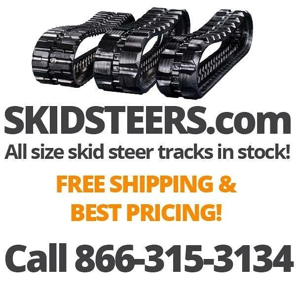 Skidsteers.com offers best pricing and free shipping on all skid steer and mini excavator tracks! See pricing and details at https://www.skidsteers.com/skid-steer-tracks.html or call 866-315-3134.  #bobcat #caterpillar #snowremoval #snowservice #earthmoving #equipment #heavyequipmentlife #dirtmover #heavymachinery #johndeere #kubota #dirtmoving #earthmover #skidsteer #skidloader #dirtlife #skidsteers_daily #construction  #landscaping #excavator #farming #farmer #dairyfarming #treeremoval…