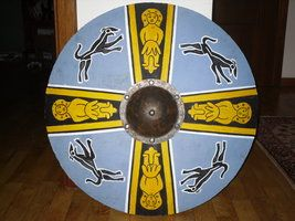 Lombard Skuldehis' shield painting by enrico-ors-91