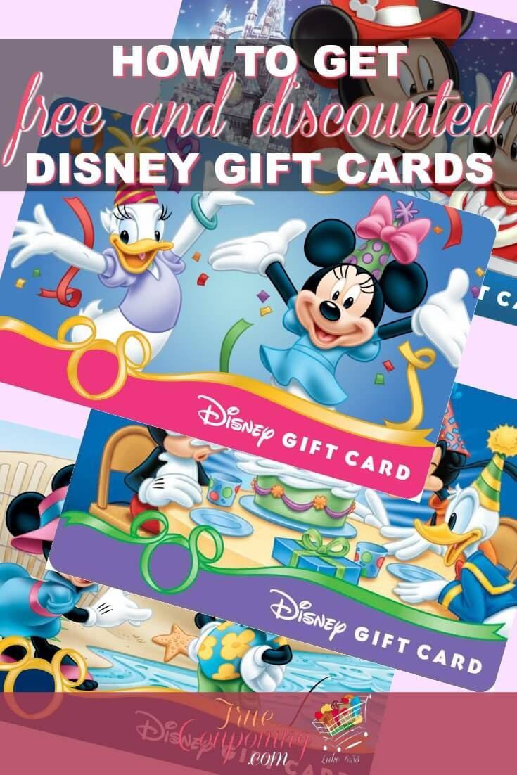 Save hundreds on your next Disney vacation by earning free and discounted Disney gift cards! via @truecouponing