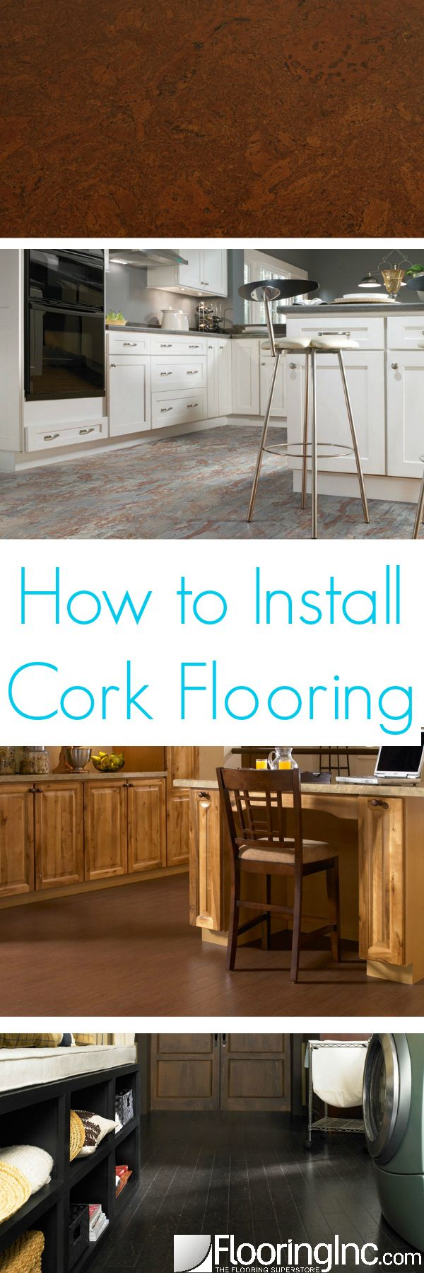 How To Install Cork Flooring It Is Home And The O 39 Jays
