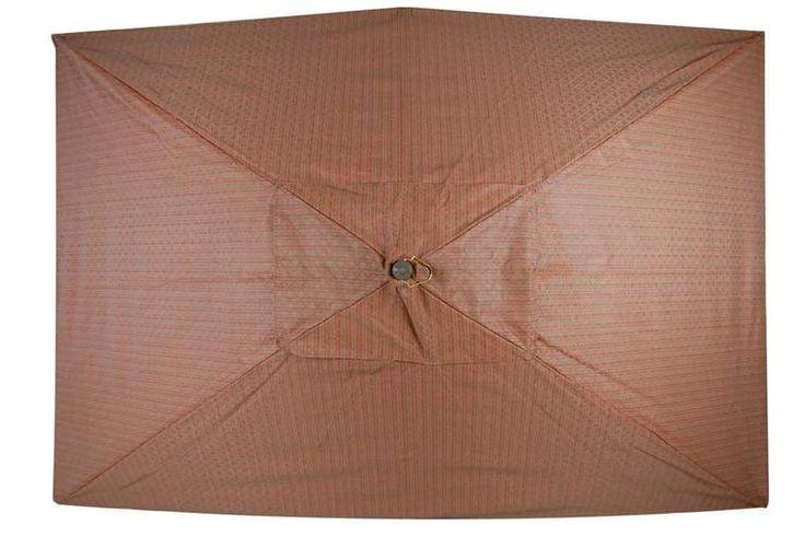 Kesey 9 Ft.  Rectangular Patio Umbrella Brown