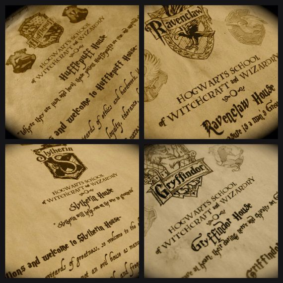 The Complete Hogwarts Acceptance Letter Kit By