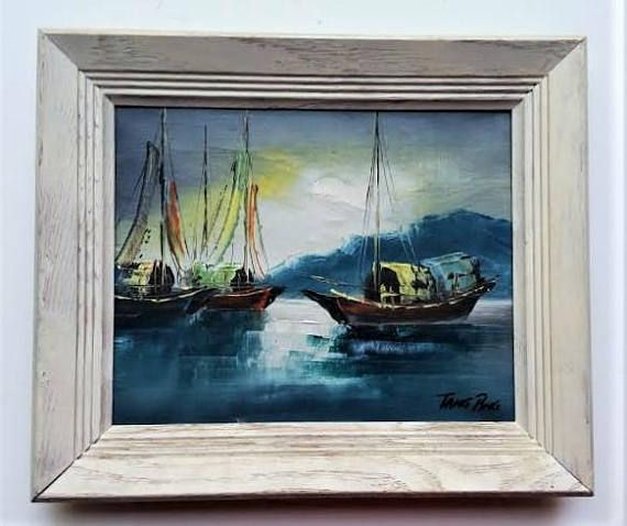 https://www.etsy.com/listing/243811153/three-boats-in-the-harbor-original-oil  Where Can I Find Art? A good place to start is online. Especially if you're not sure what you're looking for. Randomly visit pages on Etsy.com, SaatchiArt.com, Sothebys.com, and even Craigslist.com to see what artists are making. You may not find what you are looking for, but you may discover the styles and subjects you want. And that's a great step forward.  Social media can be a wonderful tool for finding and…