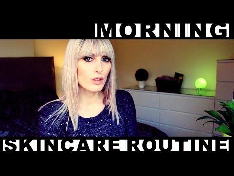 MichelaIsMyName: Morning SKINCARE Routine | MICHELA ismyname ❤️