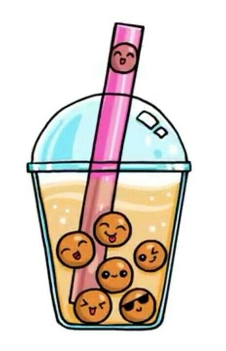 Boba Drink | Cute kawaii drawings, Kawaii drawings, Kawaii ...