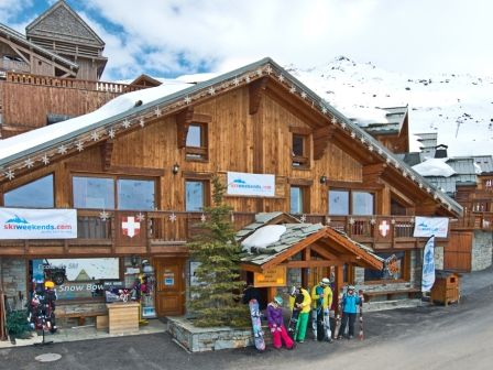 Chalet Anthony in Reberty, 3 Valleys. Available for short breaks and full week ski holidays with Ski Weekends.