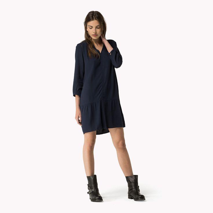 Flared Dress | NAVY BLAZER | Tommy Hilfiger® | 8719111877044 119,00€