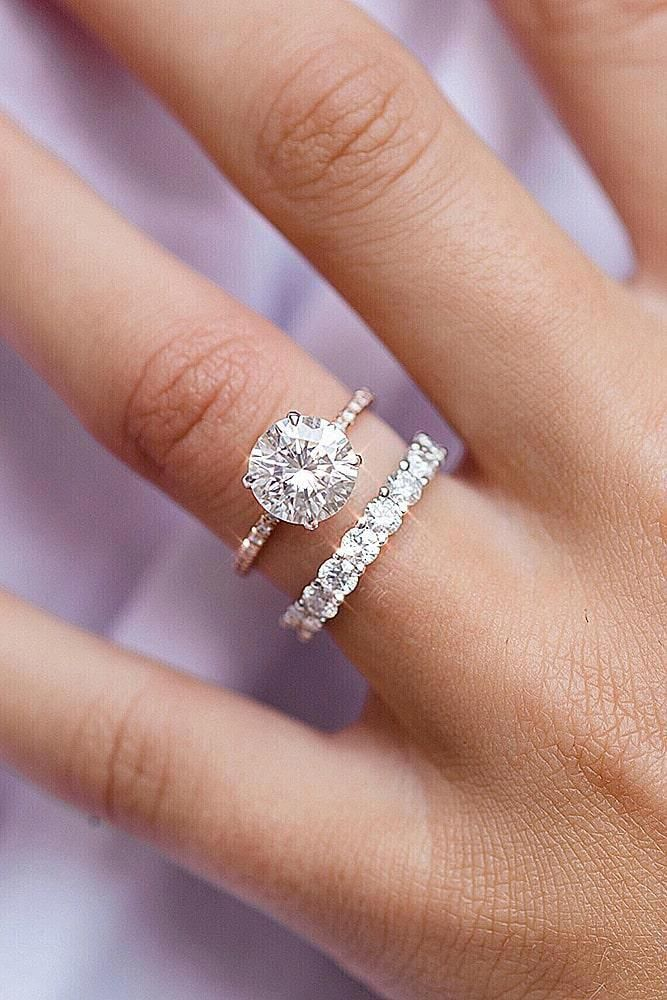 Simple Engagement Rings Unique Engagement Rings Round Engagement Rings Yellow Gold In 2020 Simple Engagement Rings Wedding Ring Sets Yellow Gold Wedding Ring