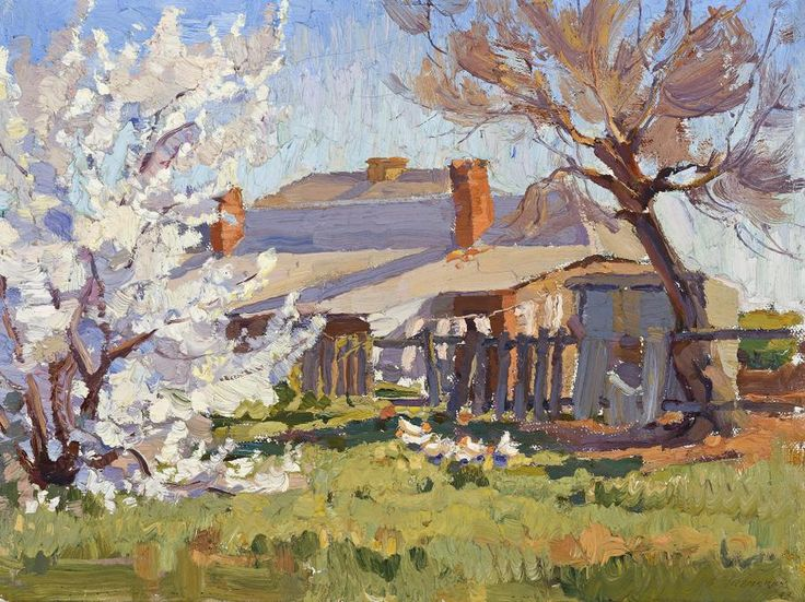 Horace Trenerry (1899-1958) - Woodside Cottage, 1923