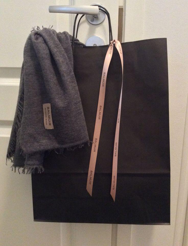 Paper bag, Helsinki Scarf | Balmuir