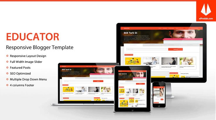 Responsive Blogger Template v10 Educator is a blogger templates for education purposes, it can used for colleges, universities and other institutions.
