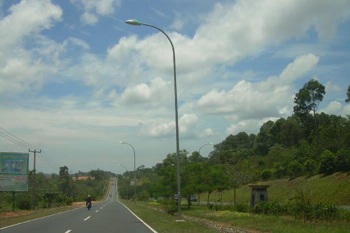 Nice street at #Batam