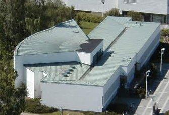 Centro cultural de Seinajoki, hecho por Alvar Aalto