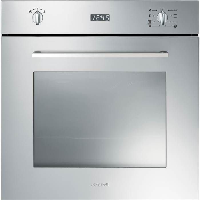 Smeg SFP485X 60cm Pyrolytic Multifunction Oven in Stainless Steel