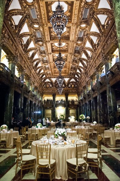 baronial reception location
