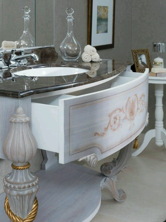 Beautiful Bathroom Chair Rail Specifics Please: 282 Best Images About Vanity Units And Basins On Pinterest