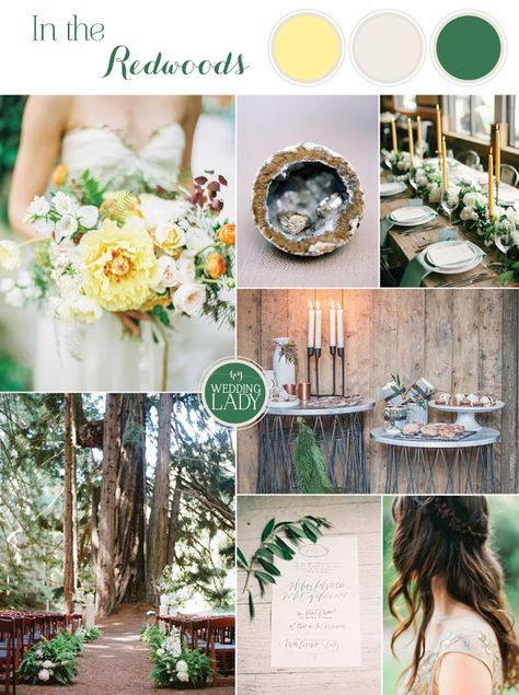 Tidewater and Tulle | A Virginia Wedding Blog: From Sea to Shining Sea: Redwoods Wedding Inspiration