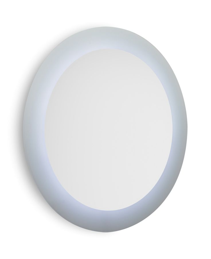 Speci round wall mounted bathroom mirror with frame and - Round bathroom mirror with lights ...
