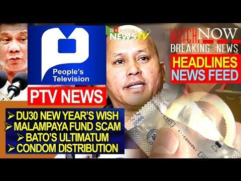 PRESIDENT DUTERTE LATEST NEWS TODAY | DECEMBER 28, 2016 | PTV ENGLISH NEWS - WATCH VIDEO HERE -> http://dutertenewstoday.com/president-duterte-latest-news-today-december-28-2016-ptv-english-news/   Welcome to my channel.  You are in a 'one-stop-news-channel'! NEWS TV is a place where you can find news updates and latest trends in the Philippines. We grab the best stuffs and reupload here.  What's new in politics, entertainment, culture, lifestyle, and Duterte �