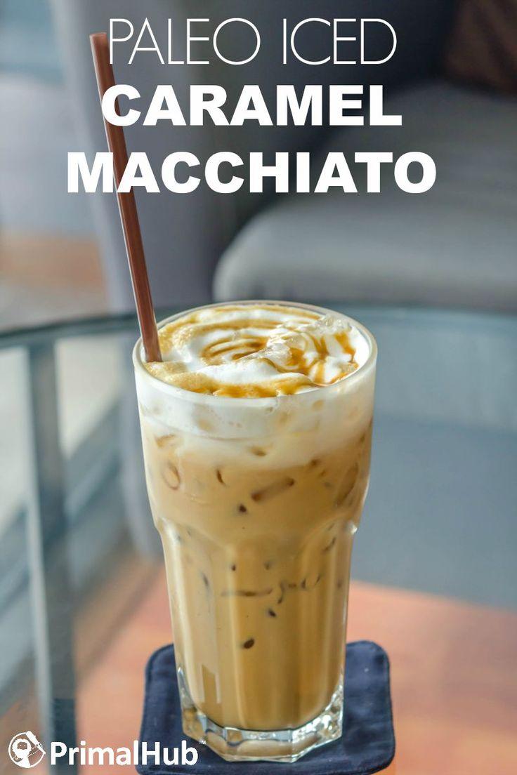 Paleo Iced Caramel Macchiato  http://wickedspatula.com/paleo-french-toast-with-fried-bananas-and-salted-coconut-caramel/