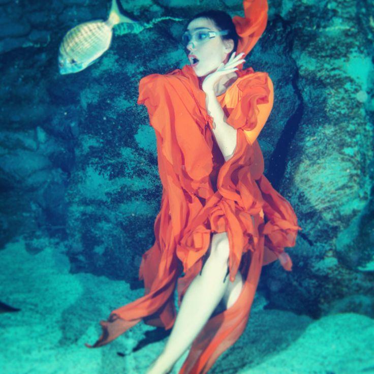 Dance of the Ocean underwater show @Turkuazoo Akvaryum Aquarium