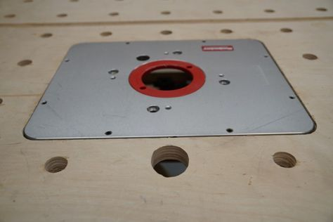 How To Cut In A Router Table Insert Plate - A Concord Carpenter