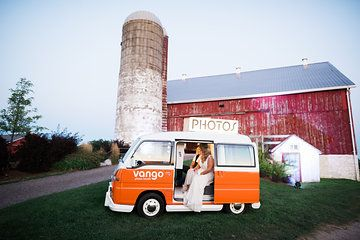 Outdoor Photobooth - Vintage Bug by Vango Photo from Jess & Francis collection by 1486 Photography