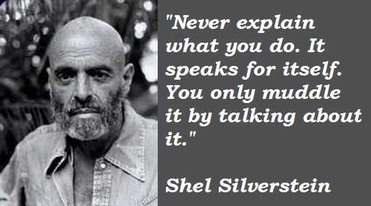 TOUCH this image: Shel Silverstein by Lily Baca